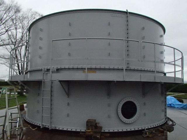 仮設円形タンク